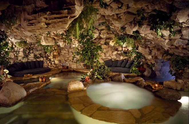 playboy mansion grotto